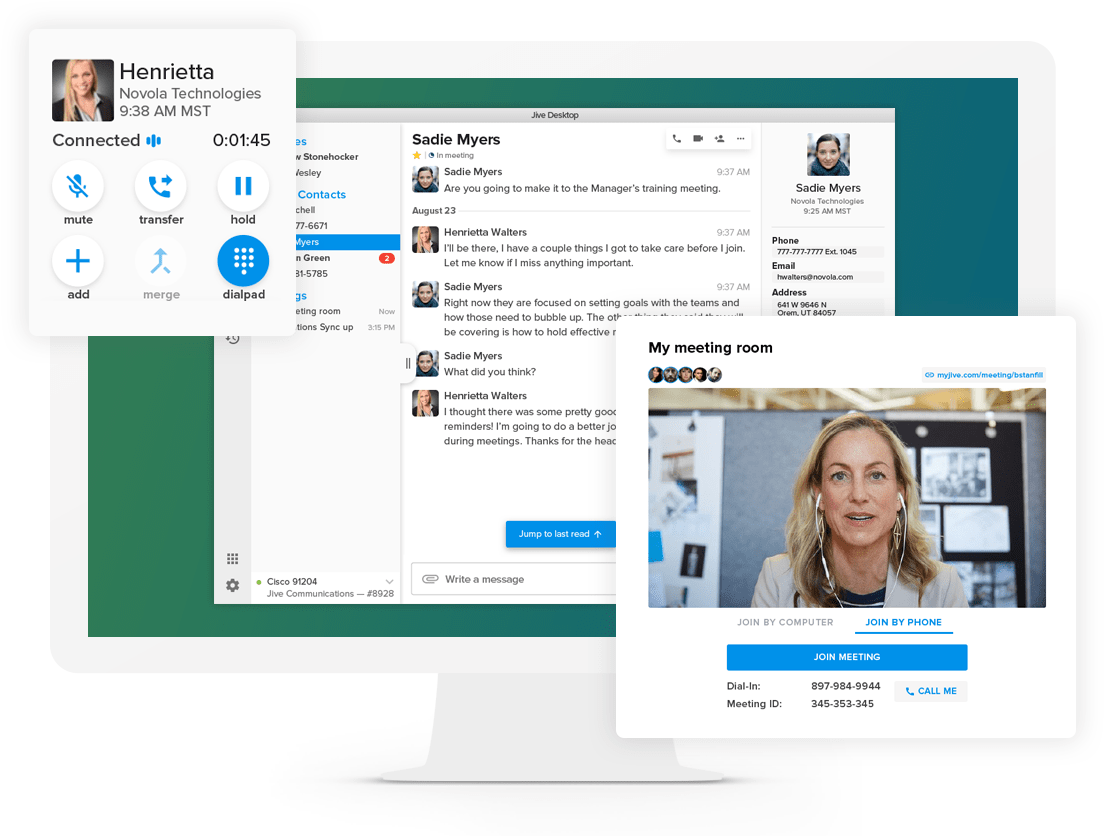 GoToConnect Jive GoToMeeting
