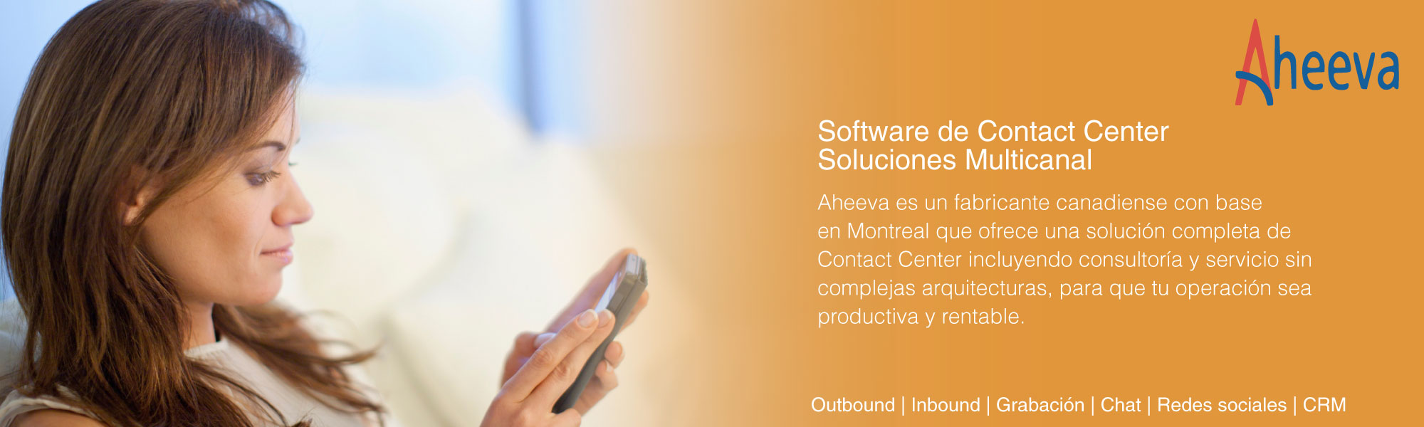 Aheeva - Software de Contact Center Soluciones Multicanal
